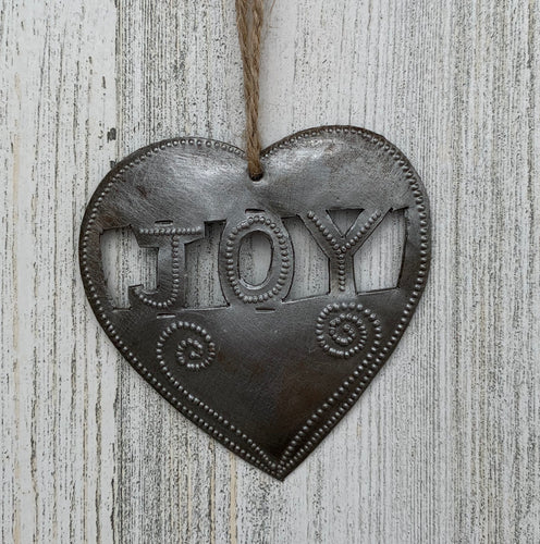 Heart Joy Ornament