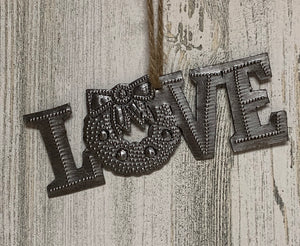 Love Wreath Ornament