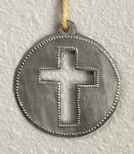Circle Cross Ornament