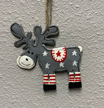 Load image into Gallery viewer, Moose Ornament Set