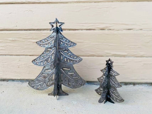 3 Dimensional Metal Tree Set