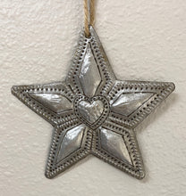 Load image into Gallery viewer, Star With Heart Ornament