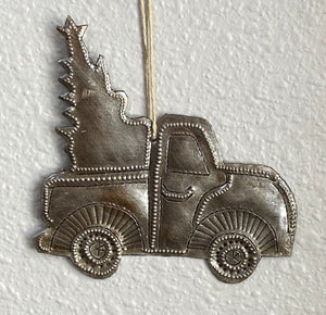 Christmas Truck - Silver