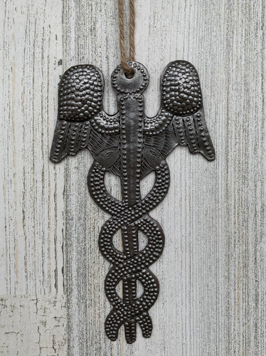 Caduceus / Medical Symbol Ornament