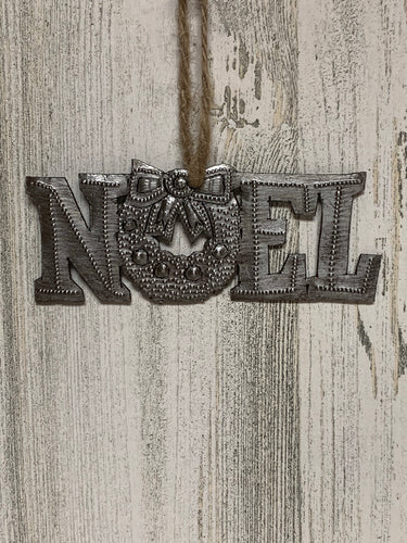 Noel Wreath Ornament