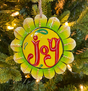 Joy Flower Ornament