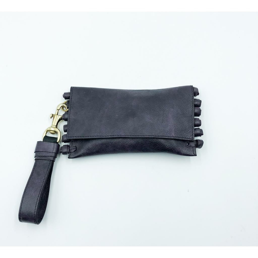 Purple Chiney Bump Clutch