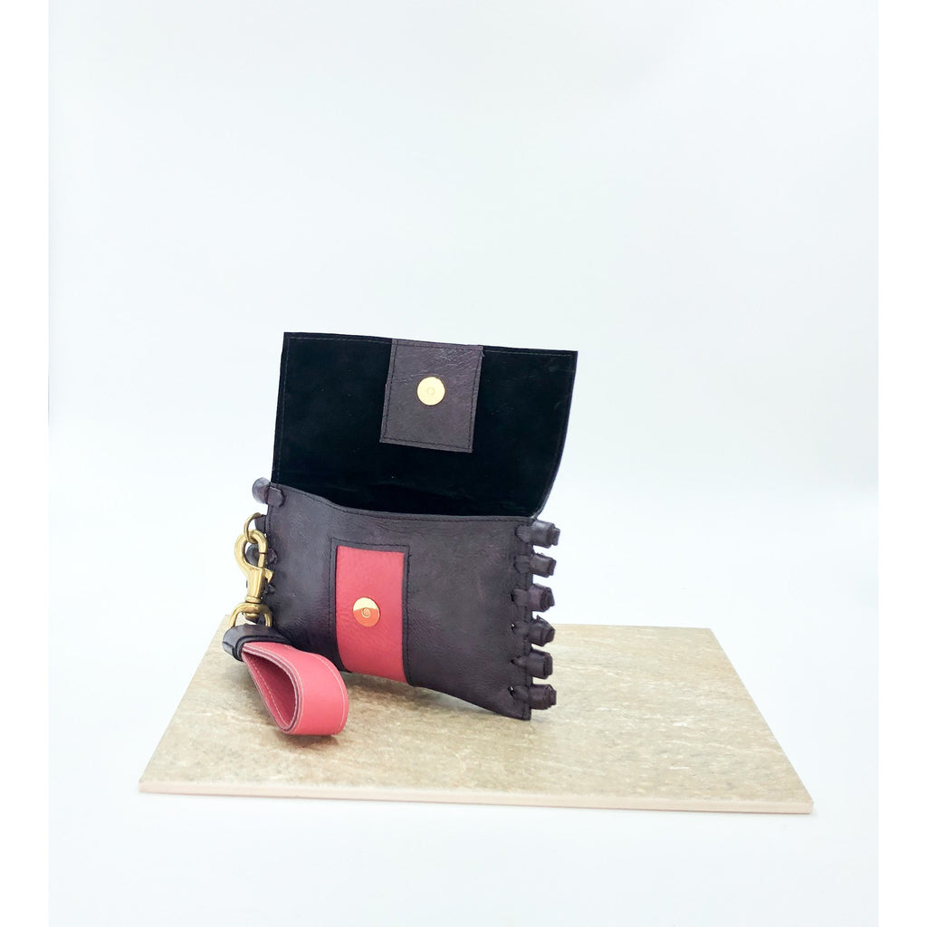 Purple and Pink Chiney Bump Clutch