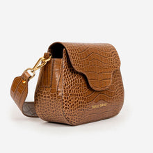 Load image into Gallery viewer, Mini Elena Cognac Croc