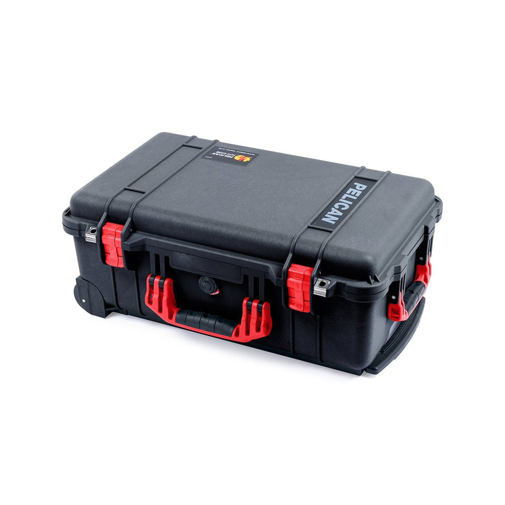 pelican 1510 black and red trekpak case