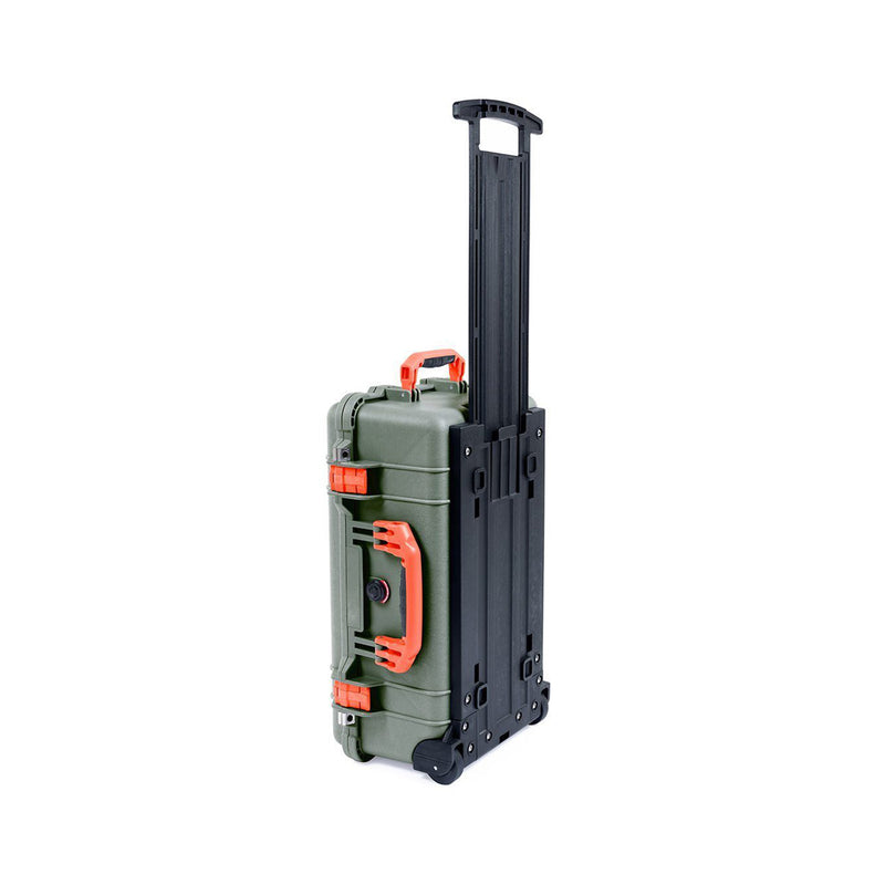 pelican 1510 green orange trekpak stand 1
