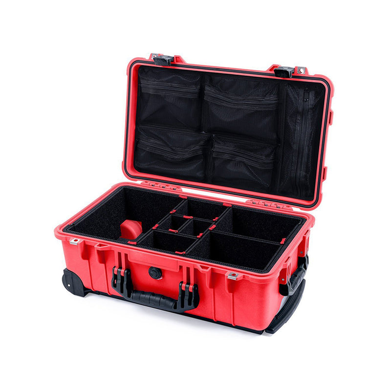 1510 PROTECTOR (CARRY-ON) - RED WITH BLACK HANDLE