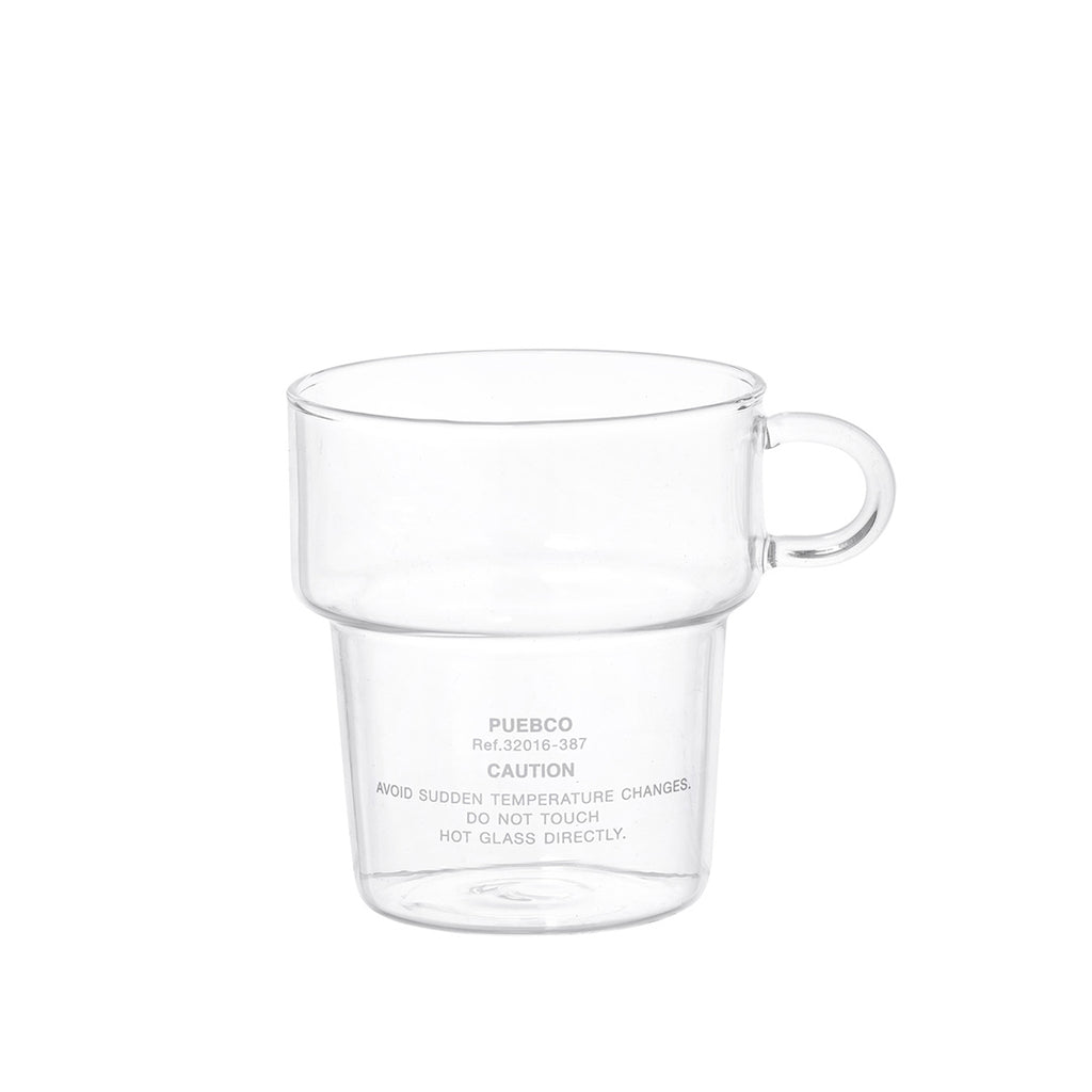 BOROSILICATE GLASS MUG- DEEP STACKING