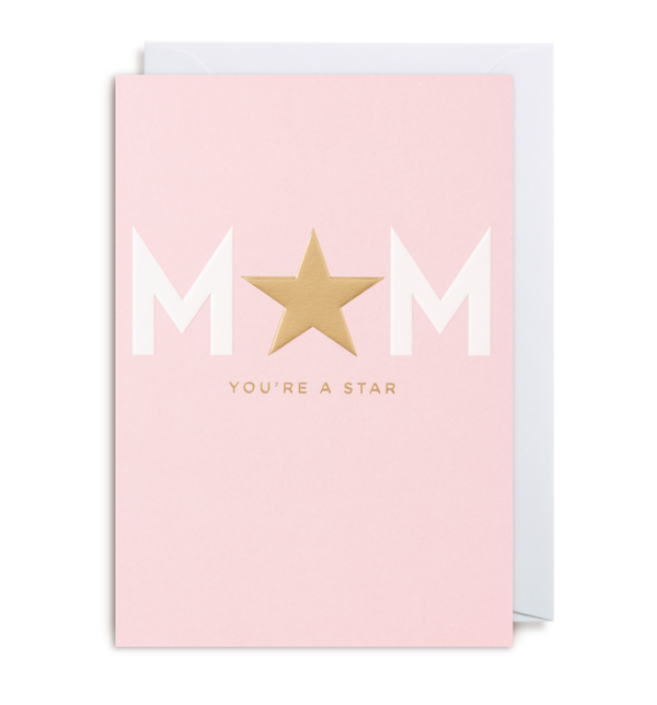 Mum You're a Star Card