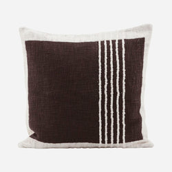 Brown Weave Cushion
