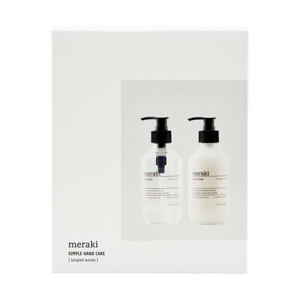 Meraki Tangled Woods Hand Soap/Lotion Gift Set