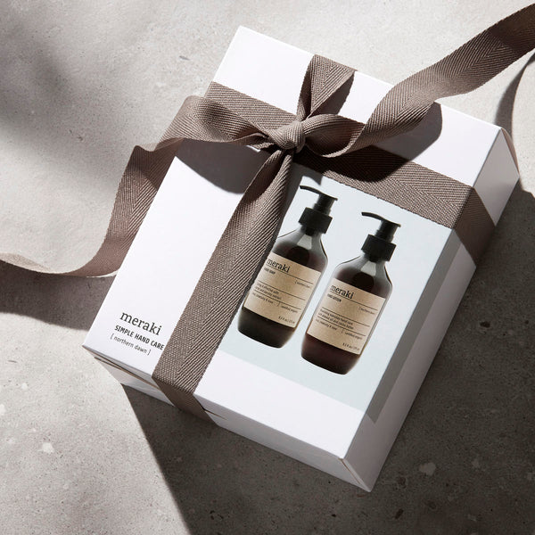 Meraki Northern Dawn Hand Soap/Lotion Gift Set