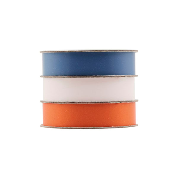 Ribbon Trio (Blue, Light Pink, Orange)