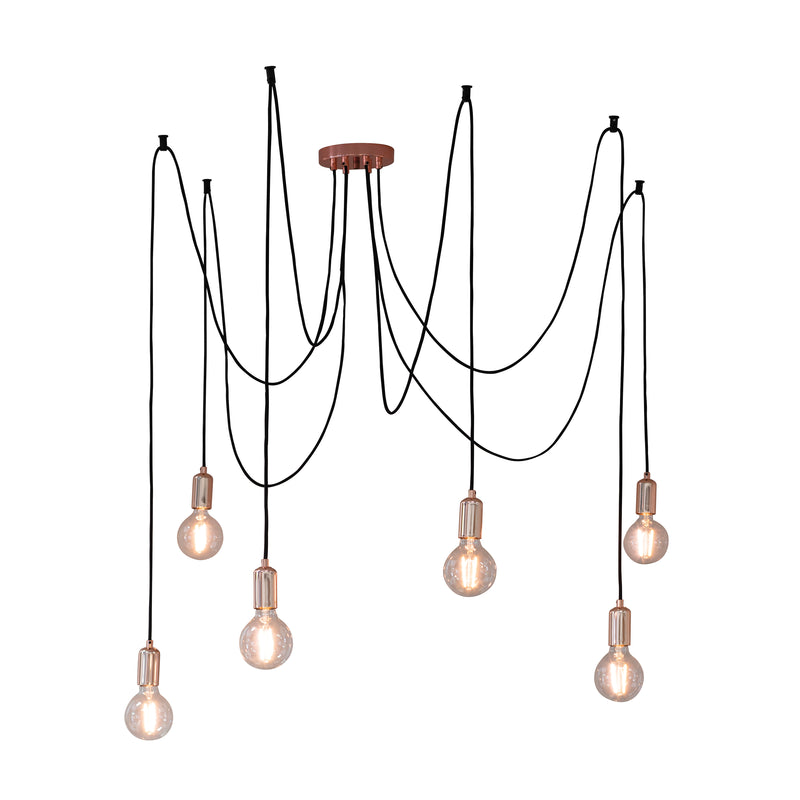The Copper 6 Cluster Pendant