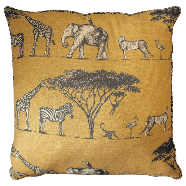 African Desert Cushion