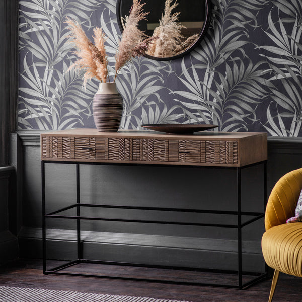 Tribal 2 Drawer Console Table