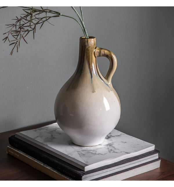 Senanga Vase with handle