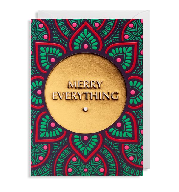 Merry Everything Pattern Card