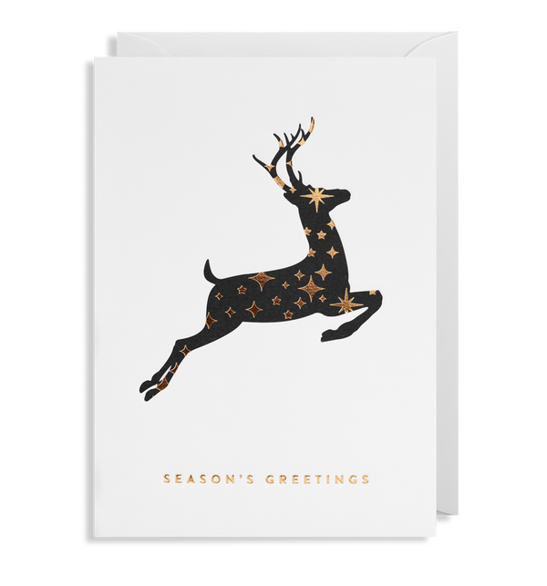 Seasons Greeting Reindeer Card