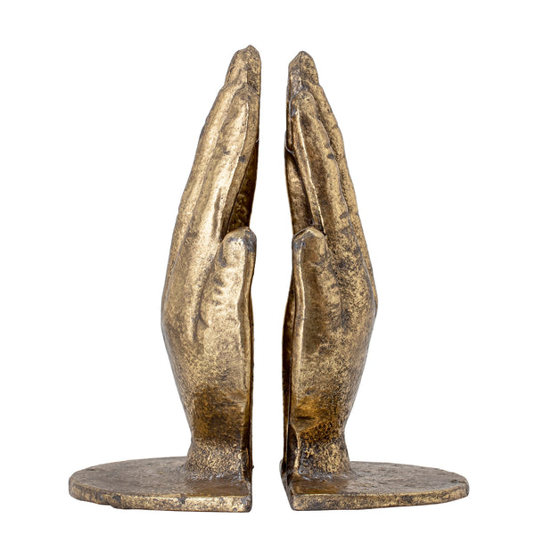 Brass Palm Bookends
