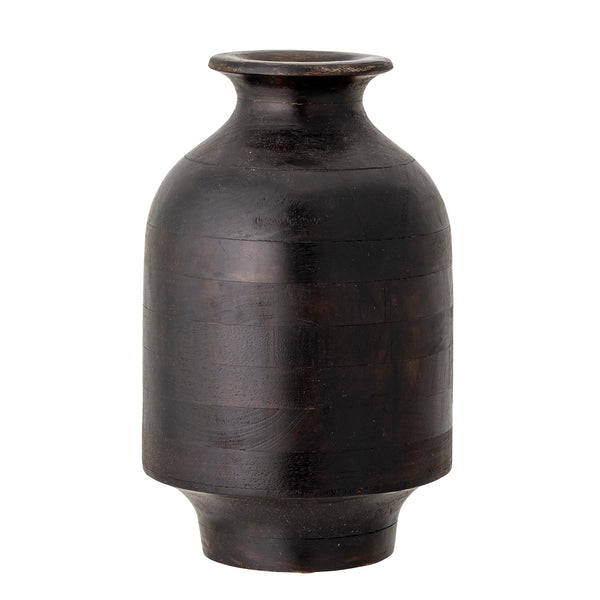 Brown Mango Wood Vase