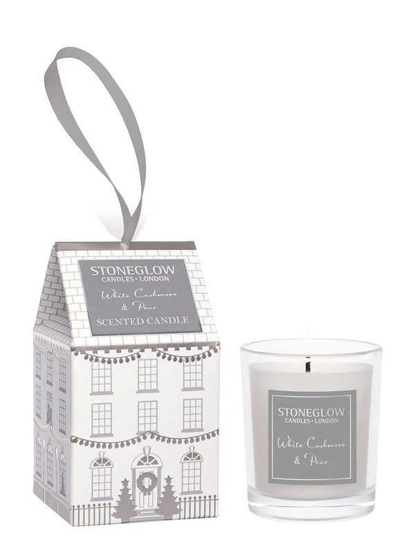 White Cashmere & Pear House Votive Candle