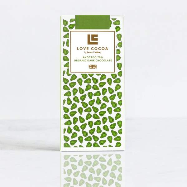 Love Cocoa Organic Avocado Chocolate Bar