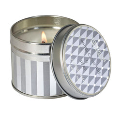 White Cashmere & Pear Candle Tin