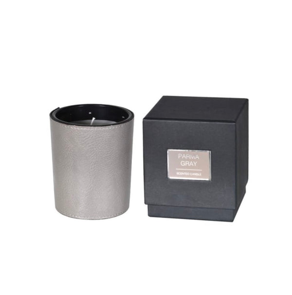 Parma Grey candle with presentation Box