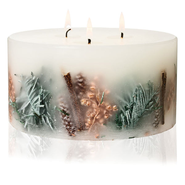 Juniper Berry & Cedar Three Wick Pillar Candle