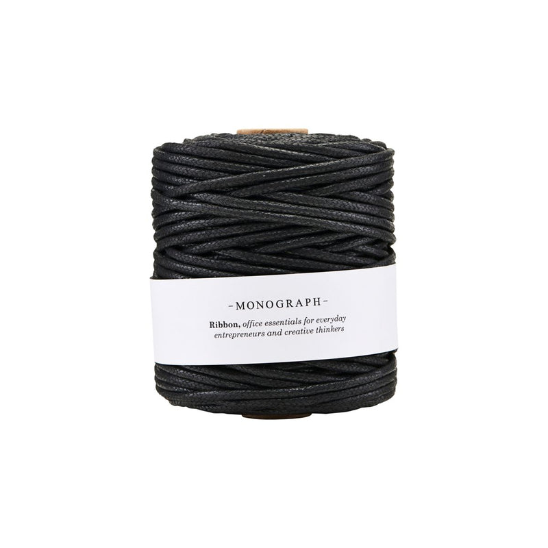 Waxed Ribbon (Black)