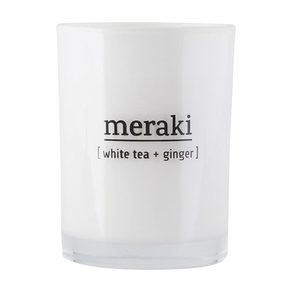 White Tea & Ginger Scented Candle