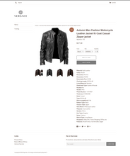 Load image into Gallery viewer, Women's and Men's Jacket Fashion Dropshipping Store for Sale