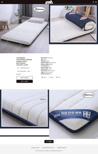 Mattress Dropshipping Store for Sale