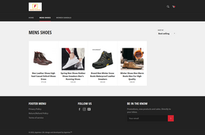 Footwear Fashion Dropshipping Store for sale