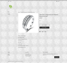 Load image into Gallery viewer, Fashion Silver Jewelry Dropshipping Store for Sale