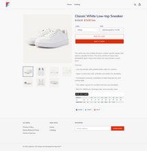 Load image into Gallery viewer, Sneaker Footwear Dropshipping Store for Sale
