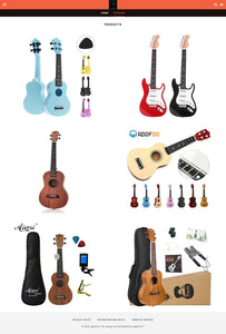 Guitar Dropshipping Store for Sale