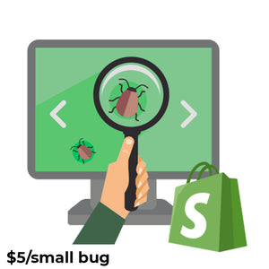 Shopify Small bug