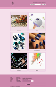Women'S Fashion Nail paint Dropshipping Store for Sale