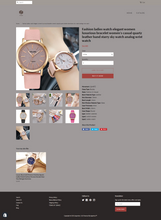 Load image into Gallery viewer, Men's and Women's Watch Dropshipping Store for Sale