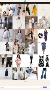 Maternity Wear Dropshipping Store for Sale