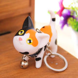 Adorable Kitty Keychain