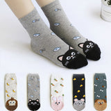 Cute Cotton Girl's Socks