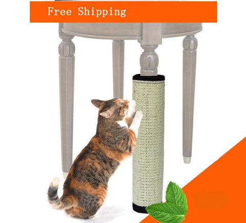Natural Sisal Straw Scratching Post For Cats